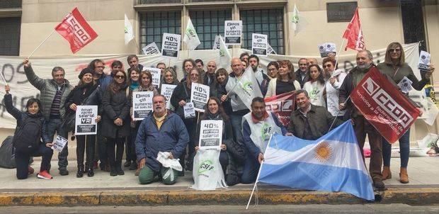 Los trabajadores de la administración pública española cumplieron su segundo día de huelga