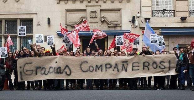 Los trabajadores seguirán trabajando pese a rechazar la falta de respuesta del gobierno español