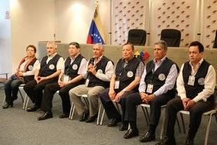 Acompañantes internacionales destacan eficiencia en el desarrollo del proceso electoral en Caracas