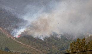Detenido el presunto autor del fuego de La Cabrera (León) que arrasó 9.000 hectáreas