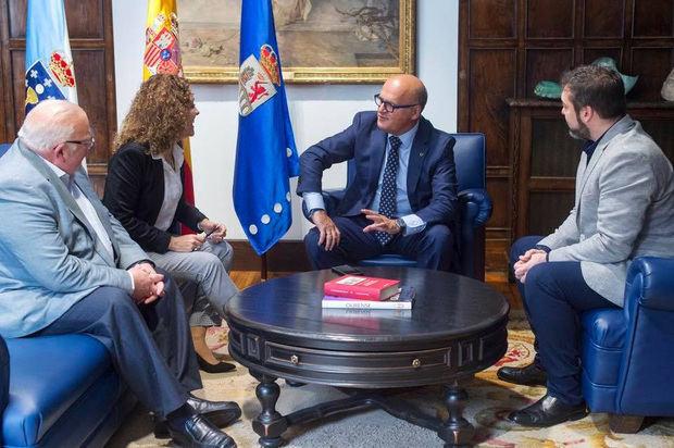 La Federación de Sociedades Gallegas junto a la diputación de Ourense impulsarán proyectos conjuntos