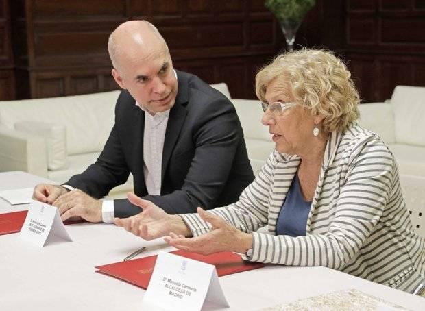 Rodríguez Larreta y Carmena acordaron un programa de cooperación