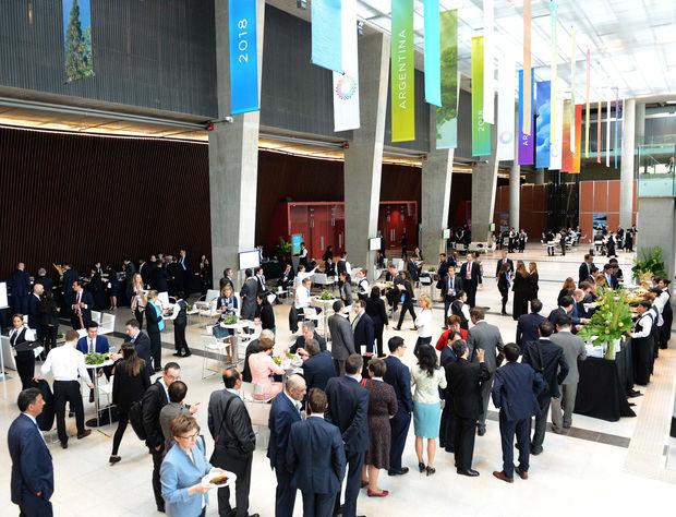 Comienza en Buenos Aires la primera reunión de ministros de Finanzas y presidentes de Bancos Centrales del G20