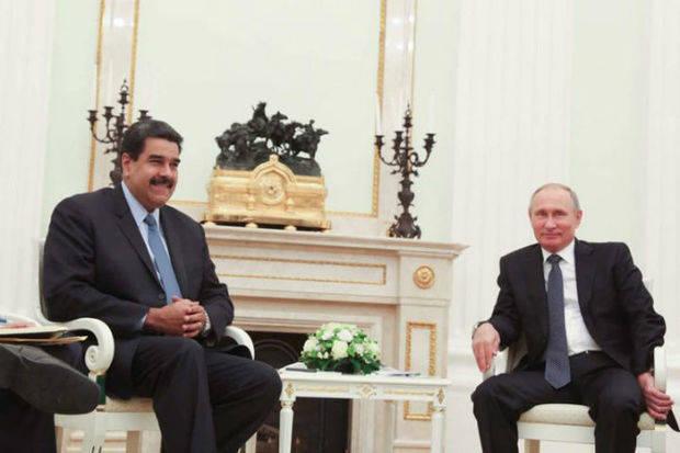 Presidente Maduro sostuvo encuentro con Putin para reforzar nexos diplomáticos