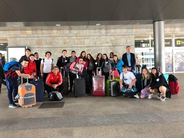 Llegaron a Santiago los participantes del segundo turno del Conecta con Galicia, procedentes de Argentina