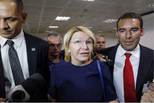 Exfiscal venezolana llegó a Brasilia para participar en reunión de Mercosur