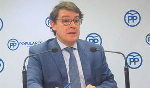Mañueco cree el PP está 'más vivo' desde que él es presidente