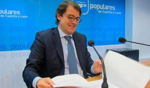 Mañueco aclara que no hay cerrada 'ninguna candidatura de ninguna capital de provincia'
