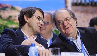 Mañueco deja en manos de Herrera su posible recambio al frente de la Presidencia de la Junta antes de 2019
