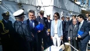 Macri celebró el Día de la Independencia en la Fragata Libertad