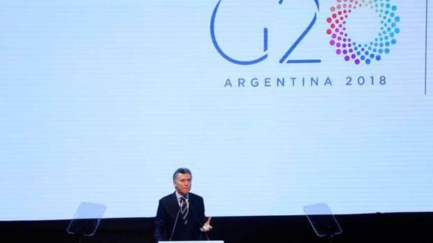 "Macri define como ""día histórico"" que Argentina asuma presidencia del G20"