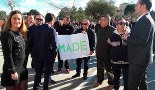 Las Cortes apoyan la continuidad de Made en Medina del Campo y se solidarizan con los trabajadores