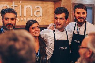 Argentina deleitó en Madrid Fusión con su gastronomía y enología