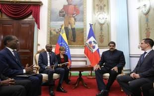 Maduro sostiene encuentro con el presidente de Haití para la cooperación bilateral