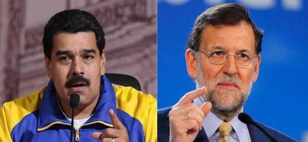 Maduro pide a Rajoy no meterse con Venezuela y dice tiene obsesión 'estúpida'