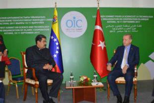 Presidentes de Venezuela y Turquía evaluaron relaciones bilaterales