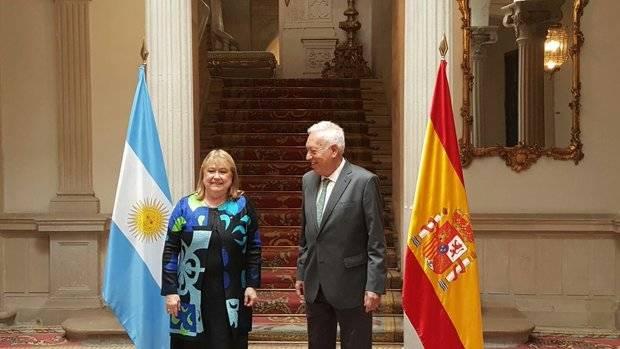 Argentina y Espa�a avanzan en su agenda pol�tica y econ�mica