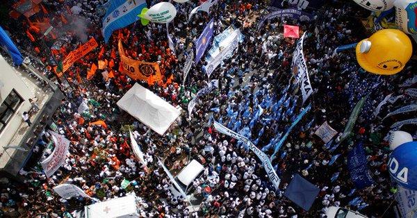 El sindicalismo español apoya la huelga general de este jueves