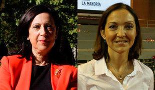 Margarita Robles y Reyes Maroto, representantes de Castilla y León en el Gobierno de Sánchez