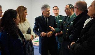 Grande-Marlaska destaca el buen funcionamiento de los protocolos y la coordinación ante la falsa amenaza de bomba