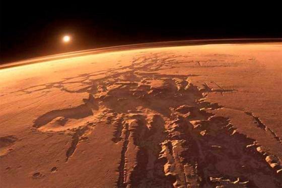 Marte tuvo agua corriente en periodo geológico 'reciente'