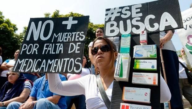 AFP: La penuria de vivir sin medicamentos en Venezuela