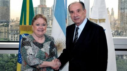 Cancilleres del Mercosur en la búsqueda de acuerdos para negociar con la UE