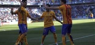 Messi rescata al Barcelona (1-2) en La Rosaleda
