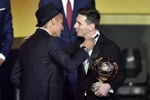 Messi gan� su quinto bal�n de oro