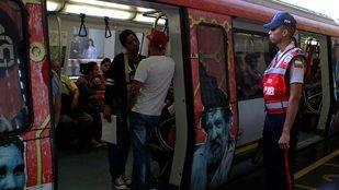 Cerradas 28 estaciones del Metro de Caracas este jueves