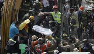 Cifra de fallecidos en México sube a 286 y hay más de un centenar de desaparecidos