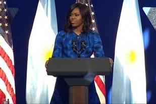 Michelle Obama les pidi� a las mujeres argentinas que