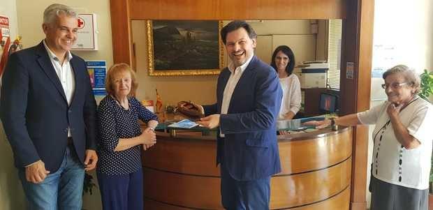 Rodríguez Miranda visitó instituciones gallegas en Buenos Aires
