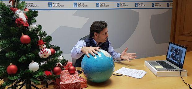 Miranda anunció el desarrollo de un programa de cuentacuentos en Navidad dentro del Aula GaliciaAberta