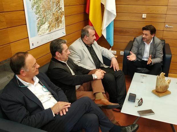 """Miranda destaca la """"labor integradora y de coordinación"""" de la Asociación de Empresarios Gallegos de la Argentina"""