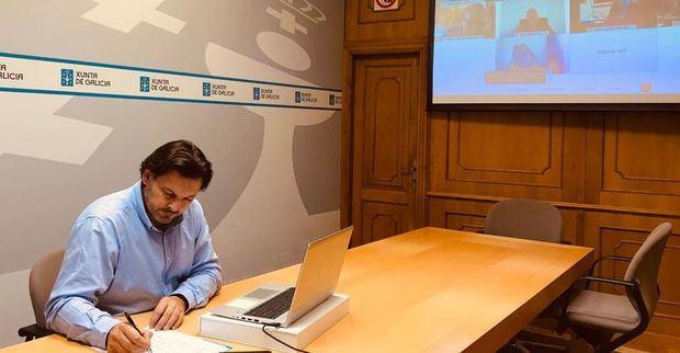 Rodríguez Miranda y López Dobarro solicitaron nuevamente a todas las entidades gallegas la creación de una red de solidaridad