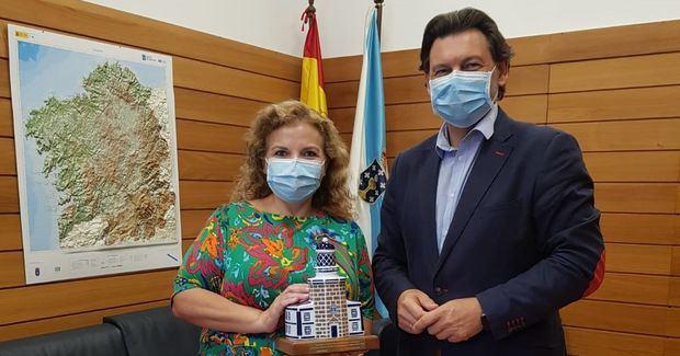 Miranda agradeció a Silvina Montenegro la labor desarrollada en el fortalecimiento de los lazos entre Galicia y la Argentina