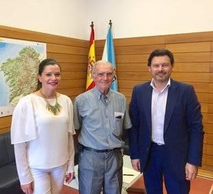 El emigrante gallego José Leirós fue nombrado Hijo Predilecto de Mos