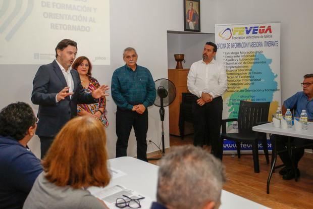 """Miranda alienta las políticas de retorno para """"traer de vuelta a la casa el talento gallego y afrontar el reto demográfico"""""""
