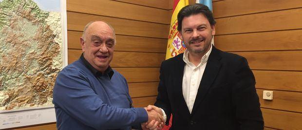 Rodríguez Miranda aplaudió la recuperación del Centro Gallego de Santa Fe