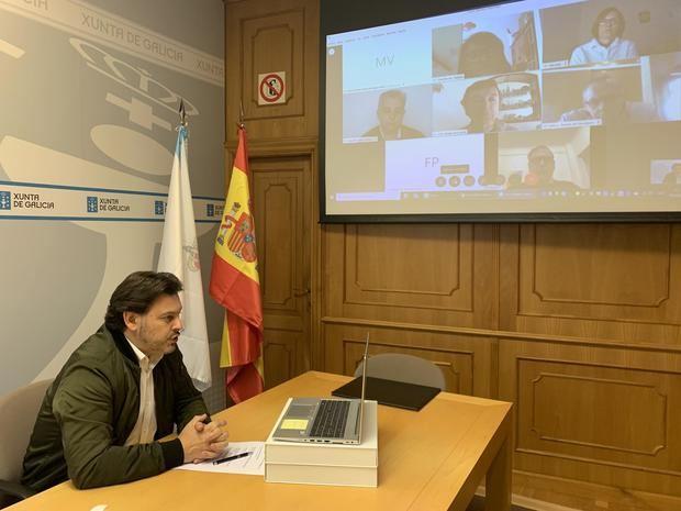 Miranda se acerca a la compleja situación de los gallegos y gallegas de la Argentina