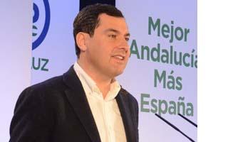 Moreno cree que el PSOE-A tiene 'algo que esconder' porque 'teme' una comisión de investigación de cursos de formación