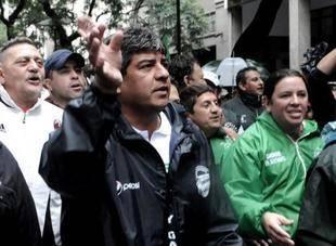 Pablo Moyano acus� al gobierno de �sacar del medio de la AFA� a su padre