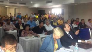 Los 112 diputados de la Unidad están reunidos para definir agenda de trabajo