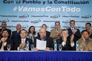 Oposici�n presiona por segundo paso en activaci�n de revocatorio en Venezuela