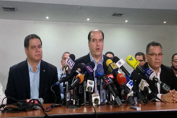 MUD anuncia alianza internacional para generar condiciones electorales