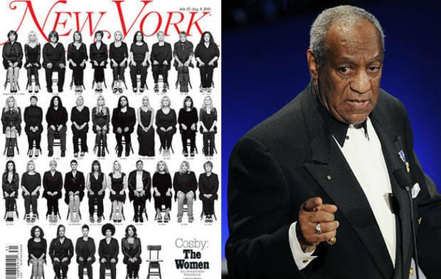 Víctimas de Bill Cosby protagonizan la portada de New York Magazine