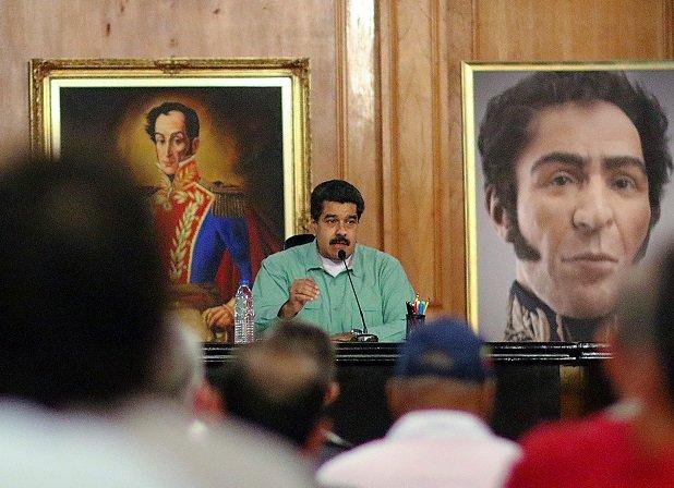 Maduro dice que EEUU no tiene que