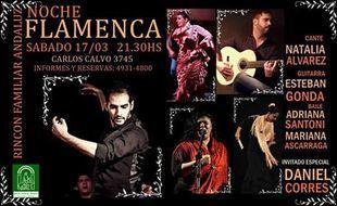 El Rincón Andaluz con la primera noche Flamenca del año