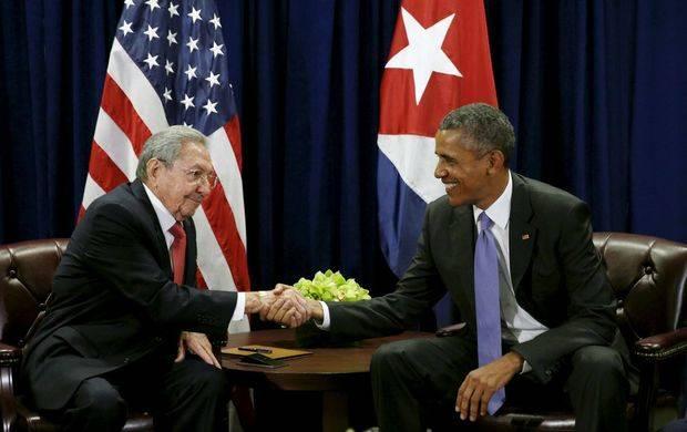 Obama y Raúl Castro celebran en la ONU su segunda reunión bilateral